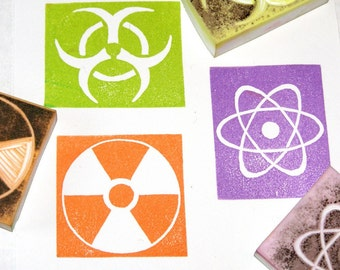 Science Symbol Stamp Set