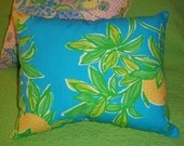 New Pillow made with Lilly Pulitzer 2010 Juice Stand fabric