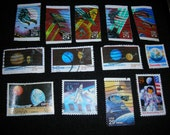 Postage Stamps -- Space, Set 1