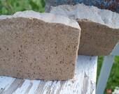 Snazey Caffinated Salt Bar - Shea Butter Soap