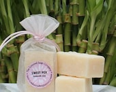 Sweet Pea Handmade Cold Process Soap Bars