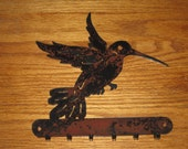 Hummingbird key Holder - Metal art