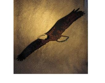 Eagle in Flight  - Metal art
