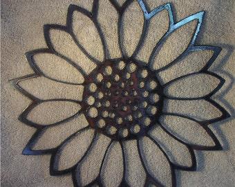 Sunflower  - Metal art