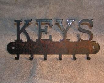 The Key Holder  - Metal art