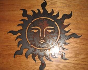 Sunshine Day  - Metal art