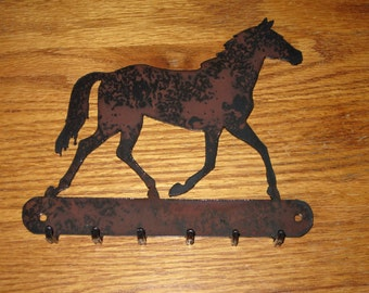 Horse Key Holder - Metal art