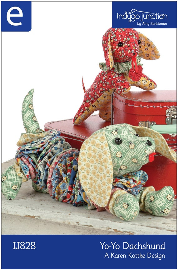Yo yo dachshund epattern for Yo yo patterns crafts