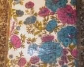 Vintage Hallmark Extra Large Paper Flowered Tablecloth - NIP