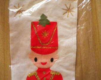 Vtge Palmer House Extra Long Made in Japan Felt Stocking NIP