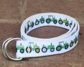 Childrens Kids Toddler Novelty Belt - Tractors