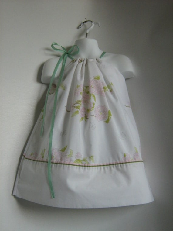 Toddler Girl Pillowcase Dresses.  Size 24 Month, 2T, 3T, 4T. Length 19 inches