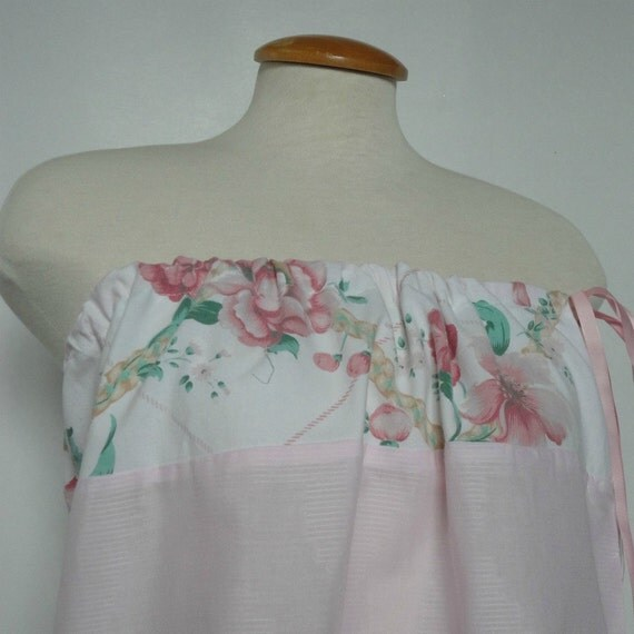 Floral Dress. Spring Fashion. Spring Dress. Romantic Dress. Womens Upcycled Dress. Baby Doll Dress. Valentines Dress.