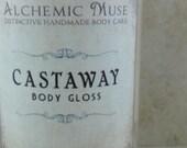 Castaway - Body Gloss - Coconut Milk, Ripe Banana, Sand and Sea