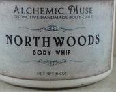 Northwoods - Body Whip -  Silver Cedar, Soft Herbs, Vetiver