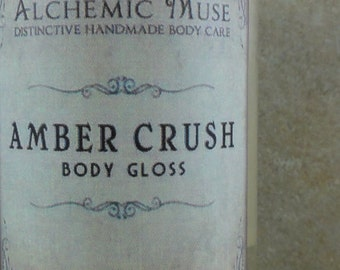 Amber Crush - Body Gloss - Amber Resins, Patchouli, Bourbon Vanilla
