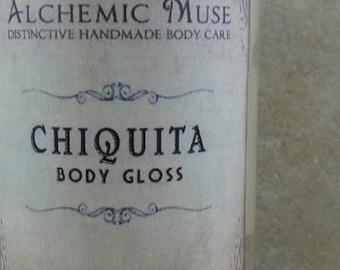 Chiquita - Body Gloss - Banana, Butter Rum, Sandalwood