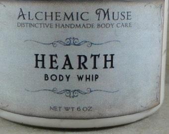 Hearth - Body Whip - Oat Porridge, Winter Citrus, Crackling Firewood - Limited Edition
