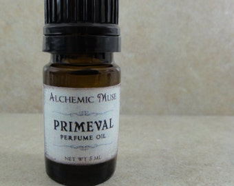 Primeval - Perfume Oil - Ancient Woods, Oakmoss, Patchouli - Limited Edition