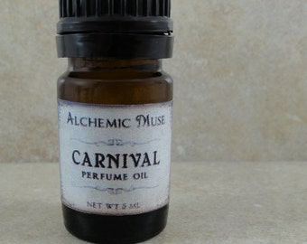 Carnival - Perfume Oil - Pink Grapefruit, Cotton Candy, Caramel, Bourbon Vanilla
