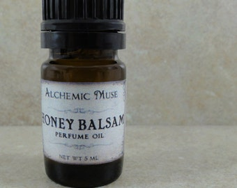 Honey Balsam - Perfume Oil - Honey Citrus, Toffee, Frankincense, Myrrh