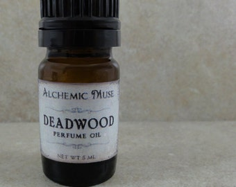 Deadwood - Pefume Oil - Wild Honey, Golden Amber, Worn Brown Leather