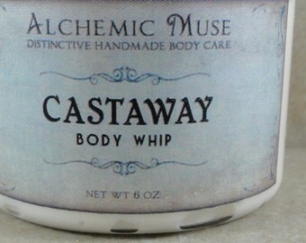 Castaway - Body Whip - Coconut Milk, Ripe Banana, Sand and Sea - Limited Edition