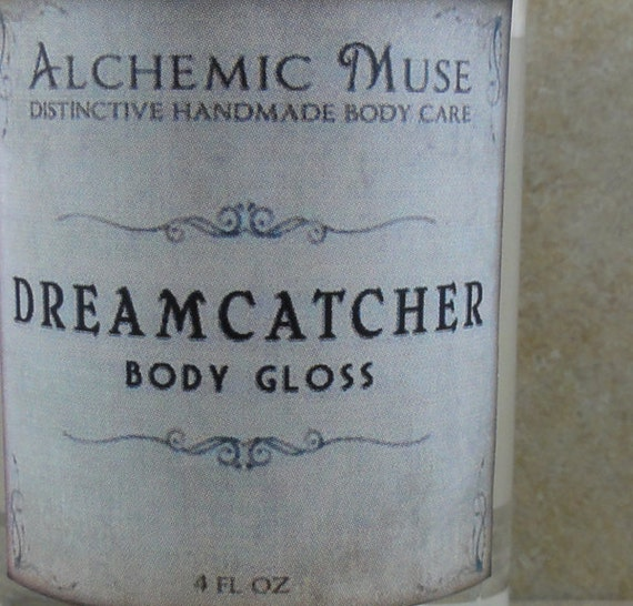 Dreamcatcher - Body Gloss - Honeysuckle, Sugared Citrus, Green Leaves - Spring Limited Edition