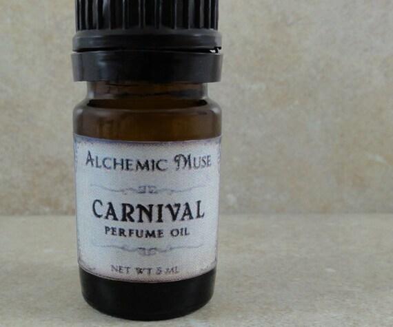 Carnival - Perfume Oil - Pink Grapefruit, Cotton Candy, Caramel, Bourbon Vanilla
