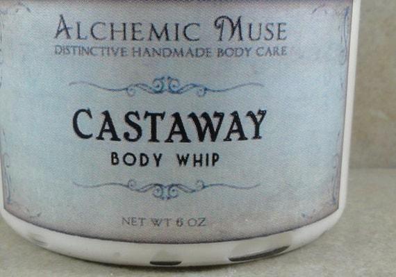 Castaway - Body Whip - Coconut Milk, Ripe Banana, Sand and Sea