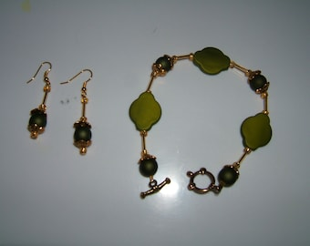 Green and Gold Set