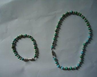 Sonya Bracelet and necklace Set