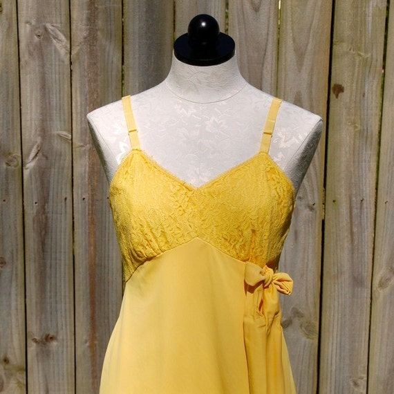 Good Day Sunshine - Size 36 - Repurposed Lingerie