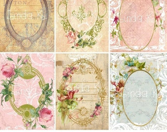 Collage Sheet   Ovals