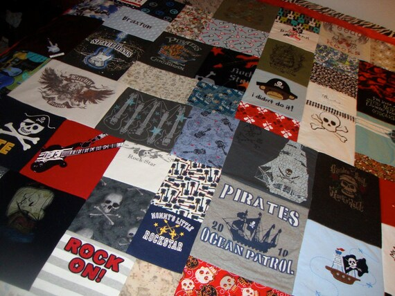 Custom Memory Quilt made from your Little Loves Clothing- Twin Size