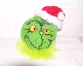 Crochet pattern THE GRINCH instant download