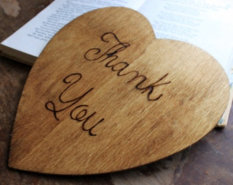 Thank You  -Wedding  Photo Prop