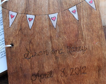 Wedding Guest Book, Wedding Guestbook, Rustic Guest Book, Rustic Guestbook, wooden guestbook, custom guestbook