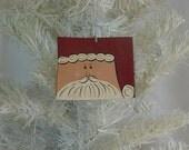 Wyoming Santa Ornament