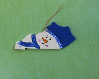 Kentucky Snowman Ornament