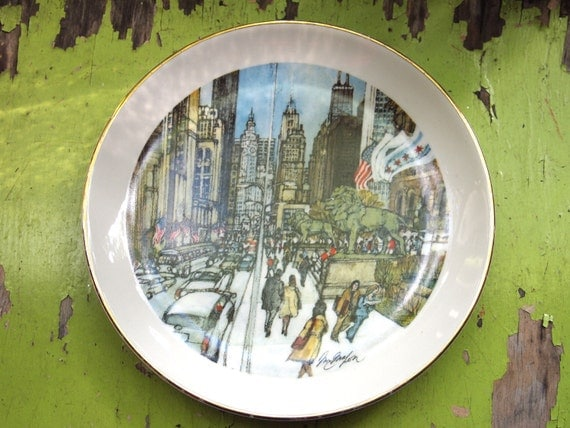 Sale: The Art Institute of Chicago. Limited Edition Plate. Made in USA. 1976.