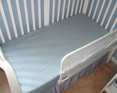 ORGANIC Cotton Crib Sheet or Toddler Bed Sheet, Flat or Fitted - Choose Your Fun Organic Fabric