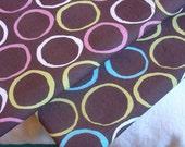 ORGANIC Cotton Pillowcase, Toddler/Travel-Sized - Circles, Pink or Teal