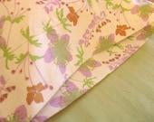 ORGANIC Cotton Pillowcase, Toddler/Travel-Sized, Garden Floral