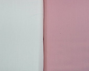 ORGANIC Cotton Fitted Crib Sheet or Toddler Bed Sheet - PINK Only - CLEARANCE (Last One)