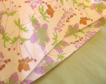 ORGANIC Cotton Pillowcase, Toddler/Travel-Sized, Garden Floral
