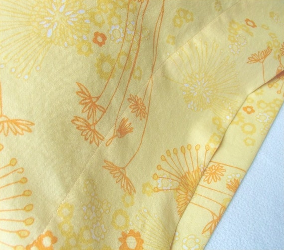ORGANIC Cotton Pillowcase, Toddler/Travel-Sized, Fields of Honey