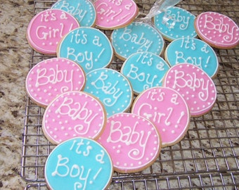 Baby Shower Cookie Favors 1 Dz