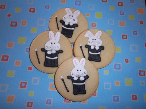 Rabbit Magic Hat Cookies