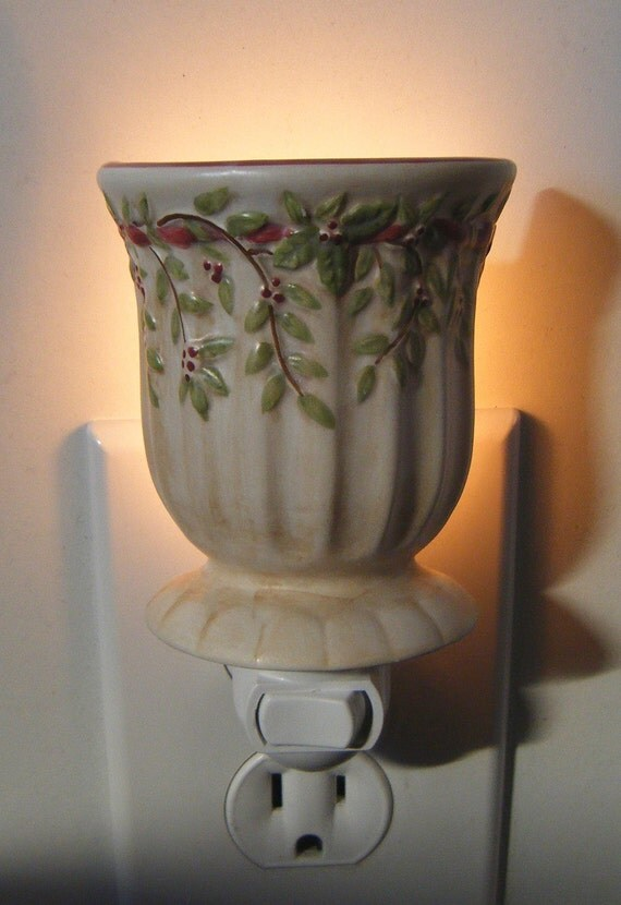 Minature Roman Urn Style Candle Holder Custom Night Light